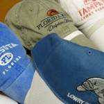 Embroidered Hats for Various Tampa Bay Area Customers