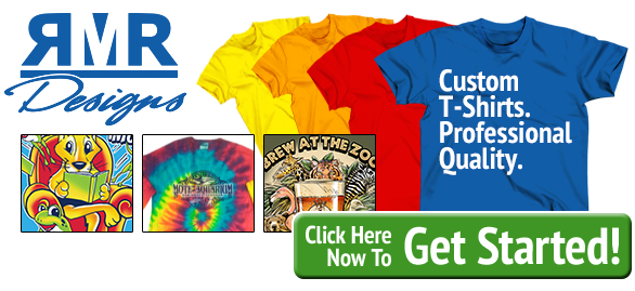 RMR Designs: Your Source for Custom Printed T-Shirts and Screen Printing