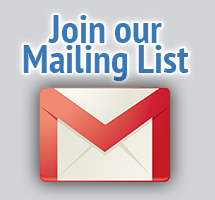 Join our mailing list to keep in touch with RMR Designs
